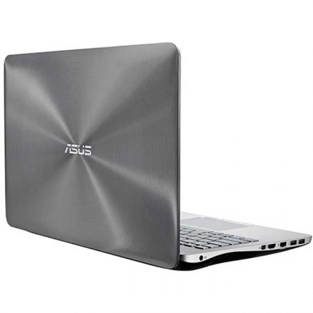 Asus [N551JX–DM010H] Laptop (Intel Core i74720HQ-2.6, 8GB RAM, 1TB HDD, 15.6 Inches, DVD±RW, 4GB GF Graphics, Windows 8.1) Silver