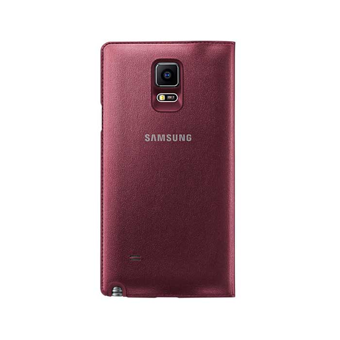 Samsung Galaxy Note 4 LED Flip Cover Red