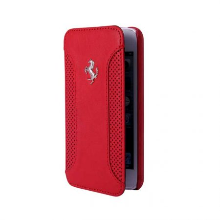 Ferrari F12 Collection Leather Booktype case for Apple iPhone 6 - Red