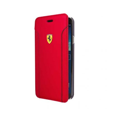 Ferrari Fiorano Collection Leather Booktype case for Apple iPhone 6 - Red