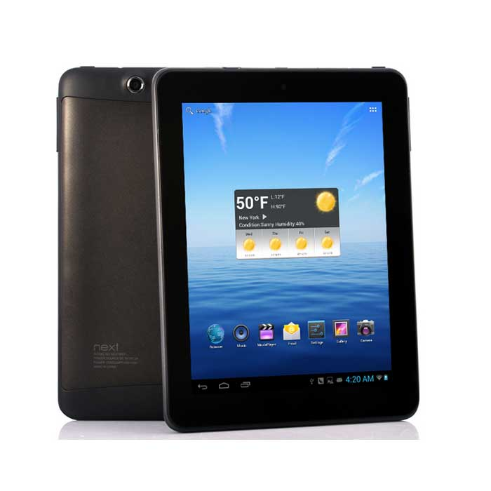 Nextbook NX868QW8 G Android Tablet with 3G and WiFi (8GB) - 8 inch