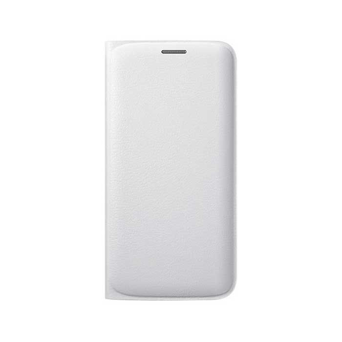Samsung Galaxy S6 edge Flip Wallet Cover White