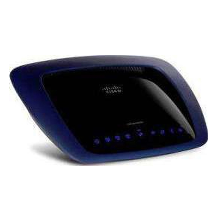 LINKSYS E3000 Wireless Router simultaneous Dual Band Gigabit 802.11a/b/g/n 2.4GHz / 5GHz up to 300Mbps with USB Built-in UPnP AV Media Server