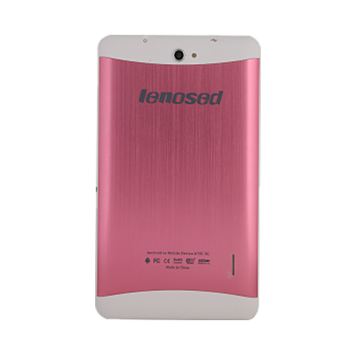 LENOSED A781 TABLET (3G, 7 inch, android 4.2.2, 4GB, Wifi, Dual Sim, Dual Cam) Pink