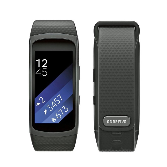 Samsung Gear Fit2 Watch (SM-R3600) Black - Small