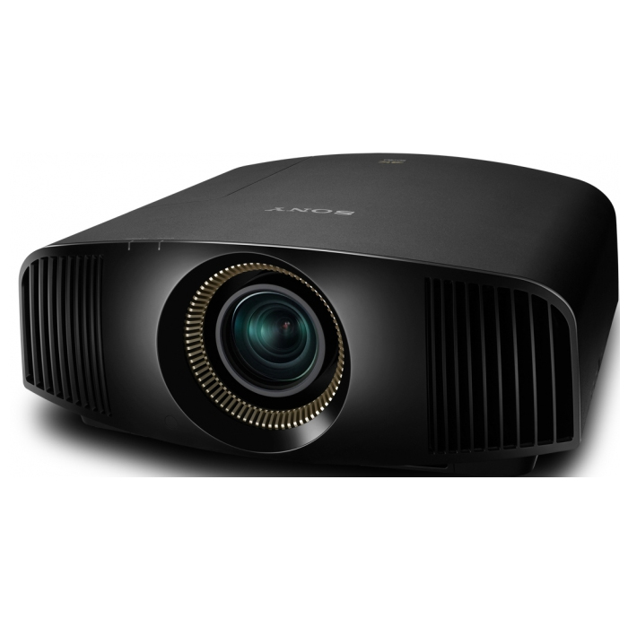 Sony projector VPL-VW500ES, 4K Home Cinema projector with 200,000:1 contrast ratio, 3LCD, HDMI, USB, NIC, Full HD, 3D