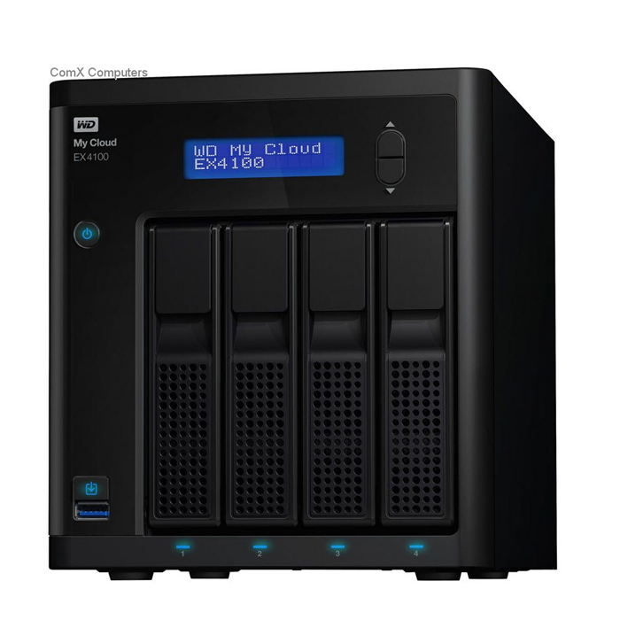 WD [WDBWWD0080KBK-EESN] My Cloud EX4 8TB Private Cloud Storage