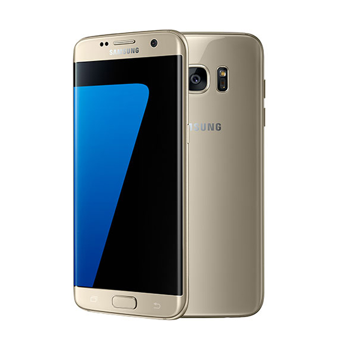 Samsung Galaxy S7 Edge ( 32GB, 5.5 Inches, 4G LTE ) Gold