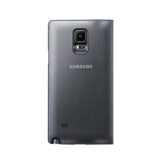 Samsung Galaxy Note 4 LED Flip Cover Grey