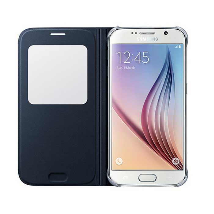 Samsung Galaxy S6 S View Cover Black