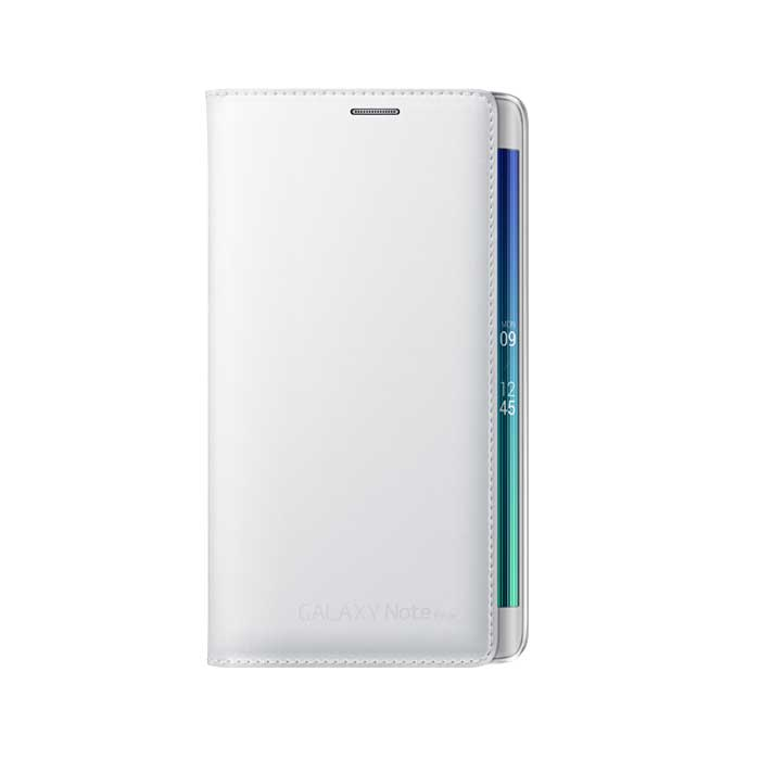 Samsung Galalxy Note Edge Flip Wallet Case White