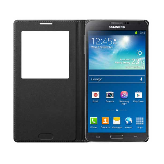 Samsung S-View Cover for Galaxy Note 3 - Black