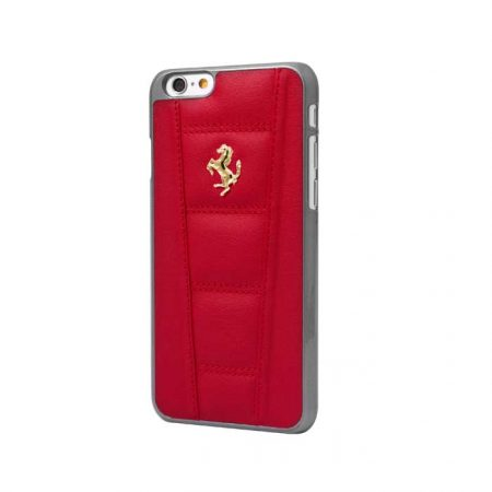 Ferrari 458 Collection Leather Hardcase for Apple iPhone 6 - Red