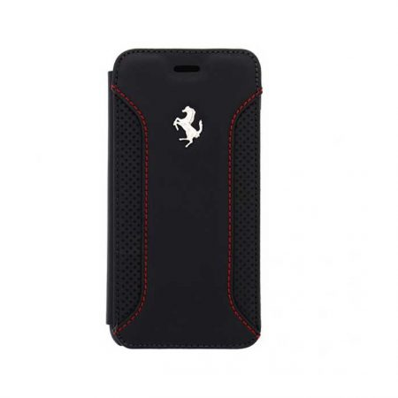 Ferrari F12 Collection Leather Booktype case for Apple iPhone 6 - Black