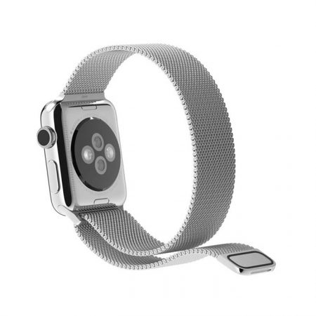 Apple Watch (MJ3Y2) 42mm Stainless Steel Case with Milanese Loop