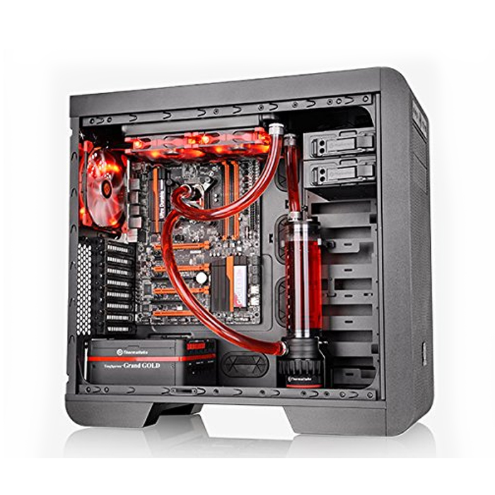 Thermaltake Pacific DIY RL240 Water Cooling Kit with CPU Water Block Cooling (CL-W063-CA00BL-A)