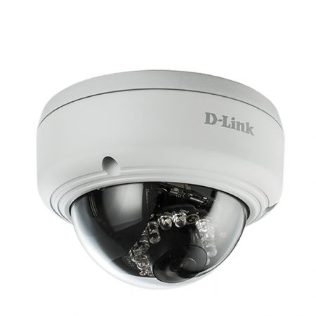 D- LINK DCS-4602EV Vigilance Full HD Day & Night Outdoor Dome Vandal-Proof PoE Network Camera