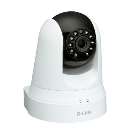 D-Link DCS-5020L Wireless Pan & Tilt Day/Night Network Cloud Camera - UK Plug