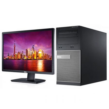 Dell Optiplex 3020MT Desktop - Dual Core-3250, 4GB RAM, 500GB HDD, DOS