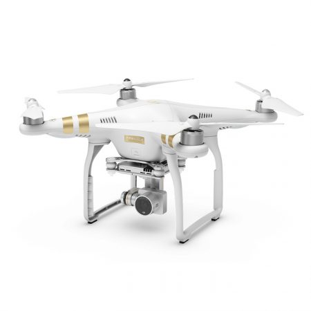 DJI Phantom 3 Professional (4K Video, 12 MP Camera, 3-Axis Stabilization Gimbal)