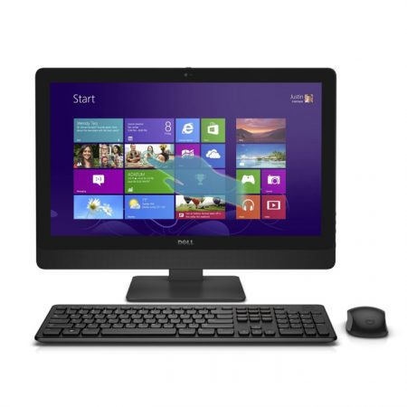 "DELL INSPIRON 5348 AIO - Intel Core I7-4th Gen / 8 GB / 2 TB /2 GB GC / 23 "" Touch / Win 8.1 Pro / Wireless Kb and Mouse / English- Arabic KB"