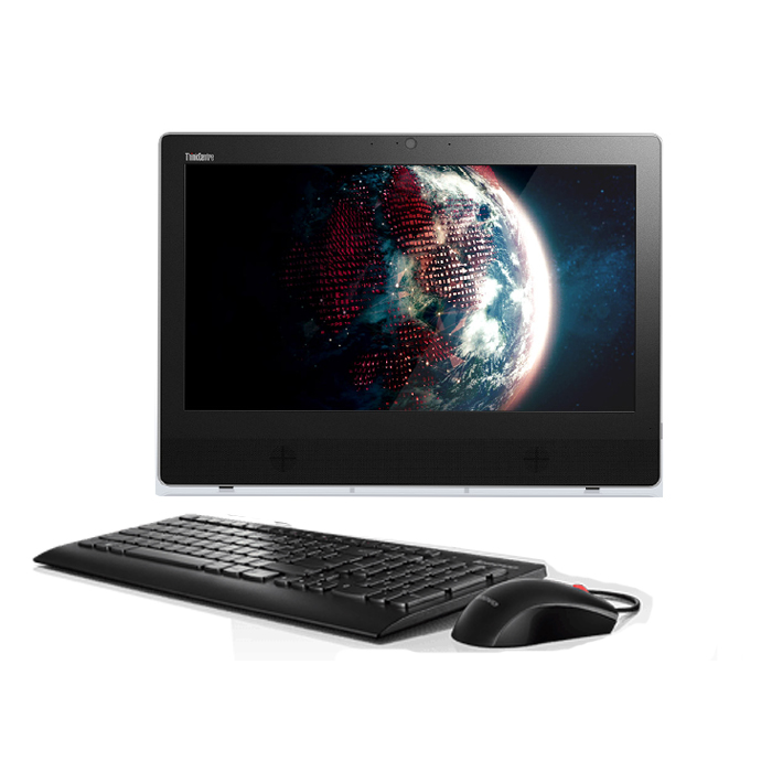 """LENOVO ThinkCentre E63z All-in-One (INTEL CORE i3, 4GB, 500GB HDD, CAMERA, 20""""SCR NON TOUCH, KEYBOARD+MOUSE WIRE, DOS"""