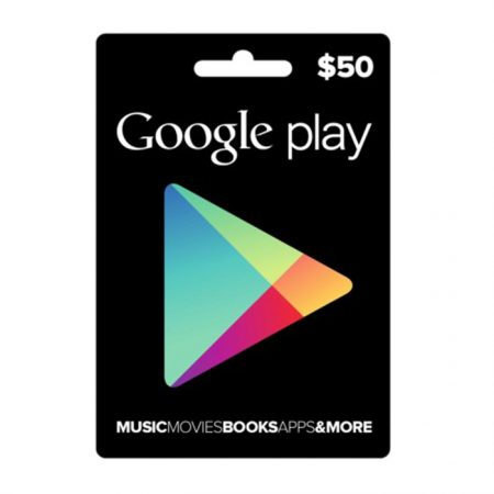 Google Play Gift Card $50