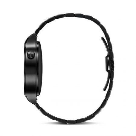 Huawei Smart Watch - Black Stainless Steel with Black Stainless Steel Link Band