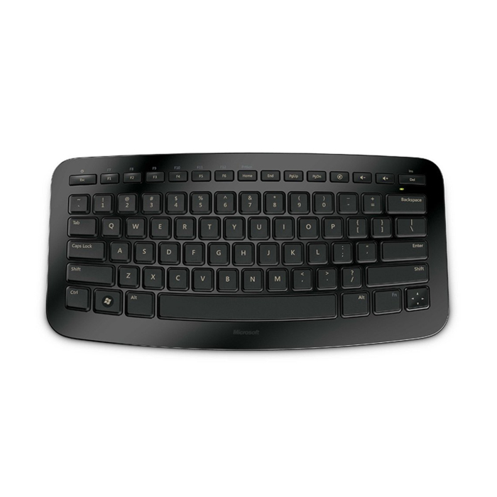 Microsoft Wireless Arc Keyboard English