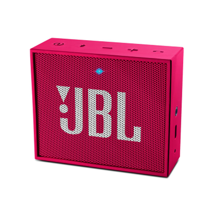 JBL GO Portable Wireless Bluetooth Speaker - Pink