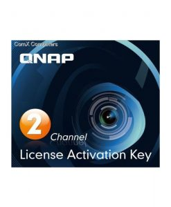 QNAP SYSTEMS | LIC-CAM-NAS-2CH