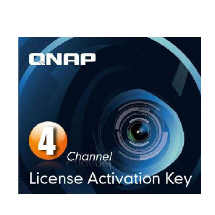 QNAP LIC-CAM-NAS-4CH - Camera Licence Pack