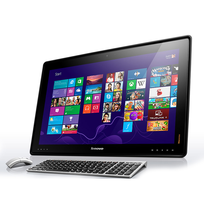 "Lenovo IdeaCentre Horizon 2 Multimode Table PC - Core™ i5, 1TB, 8GB, 27"" TOUCH, WIN8.1, NVIDIA® 840A 2048MB Wireless Keyboard & Mouse"