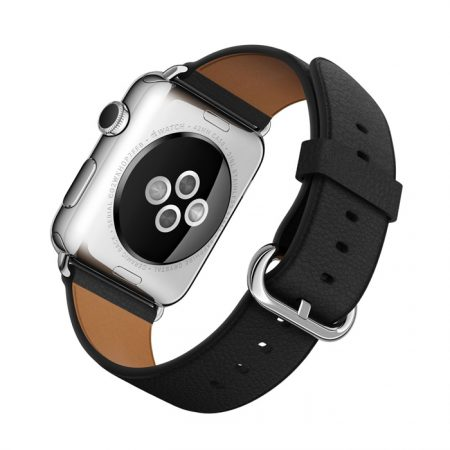Apple Watch (MLFA2) 42mm Stainless Steel Case with Black Classic Buckle