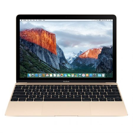 Apple MacBook (MLHE2) 12-Inch, 256GB, Retina Display- Gold (2016 Version)