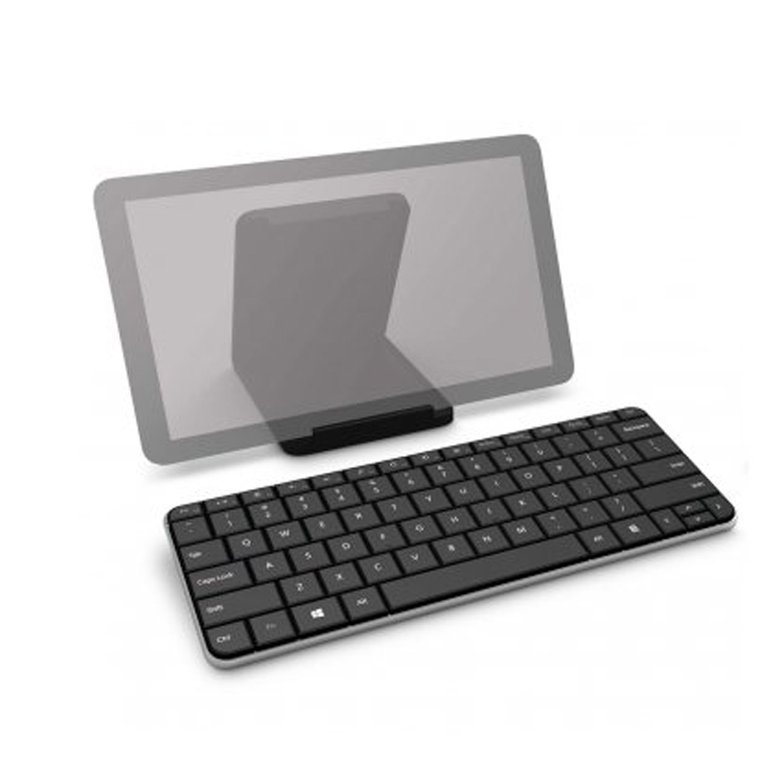 Microsoft Bluetooth Wedge Mobile Keyboard -Ideal for Tablets