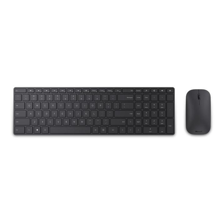 Microsoft Designer Bluetooth Desktop Keyboard and Mouse - Black