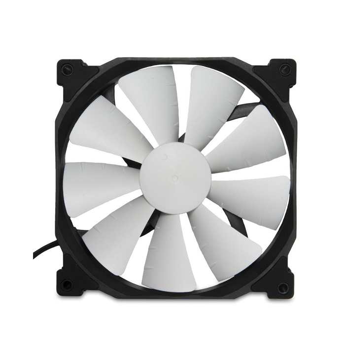 Phanteks 140mm LED Case Fan with 400mm Extension Cable (PH-F140SP_BK_BLED) Blue
