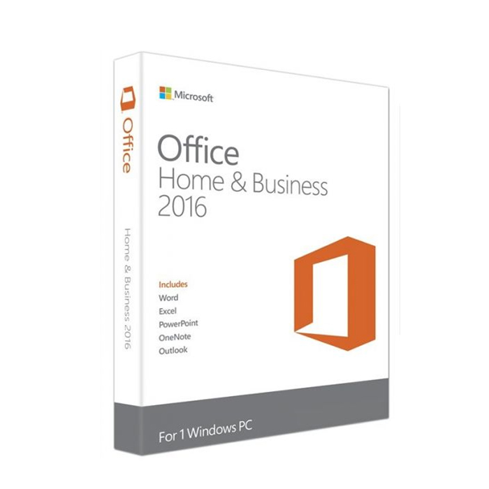 MS OFFICE 2016 HOME&BUSINESS (T5d-02362) (T5d-02362) - Retail Pack