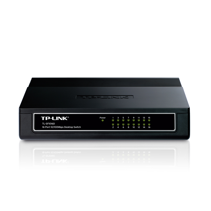TP-Link TL-SF1016D 16-Port Desktop Switch