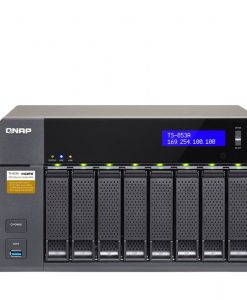 QNAP TS-853A 8-Bay Professional-Grade Network Attached Storage, Supports 4K Playback
