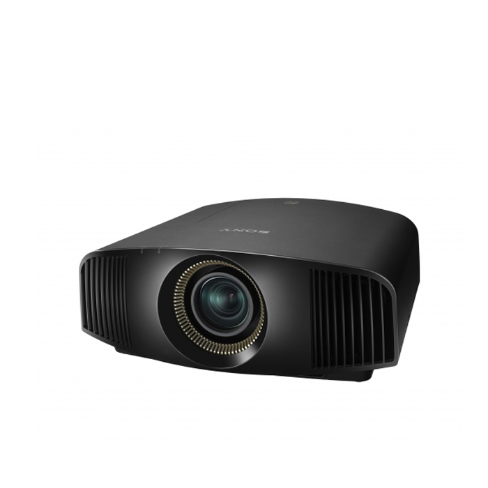Sony 4K SXRD Home Cinema Projector,1800 lumens brightness, 300,000:1 contrast, HDR compatibility,premium white finish (3LCD, HDMI, USB, NIC, Full HD, 3D)