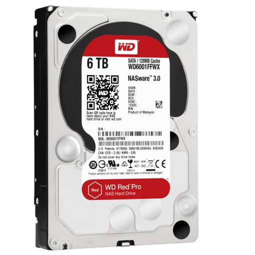 Western Digital 6 TB RED PRO SATA HDD - WD6001FFWX
