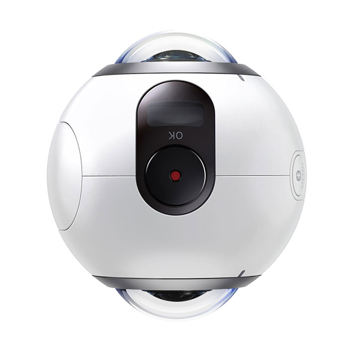 Samsung Gear 360 Spherical 360° High Resolution Camera - White