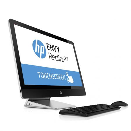 "HP Envy Recline Touchsmart AIO 27-K405D Intel Core i7-4790T / 16 GB RAM / 1TB HDD +8 GB SSD/ NO DVD/ 2 GB Graphics Card /27"" Touch /Win 8.1 SL/ Wireless KB and Mouse /English Kb"