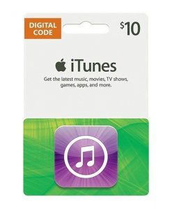 iTunes 10$ Gift Card