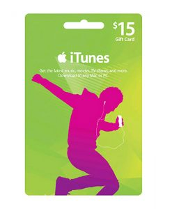 iTunes 15$ Gift Card