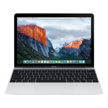 Apple MacBook (MLHA2) 12-Inch, 256GB, Retina Display - Silver (2016 Version)