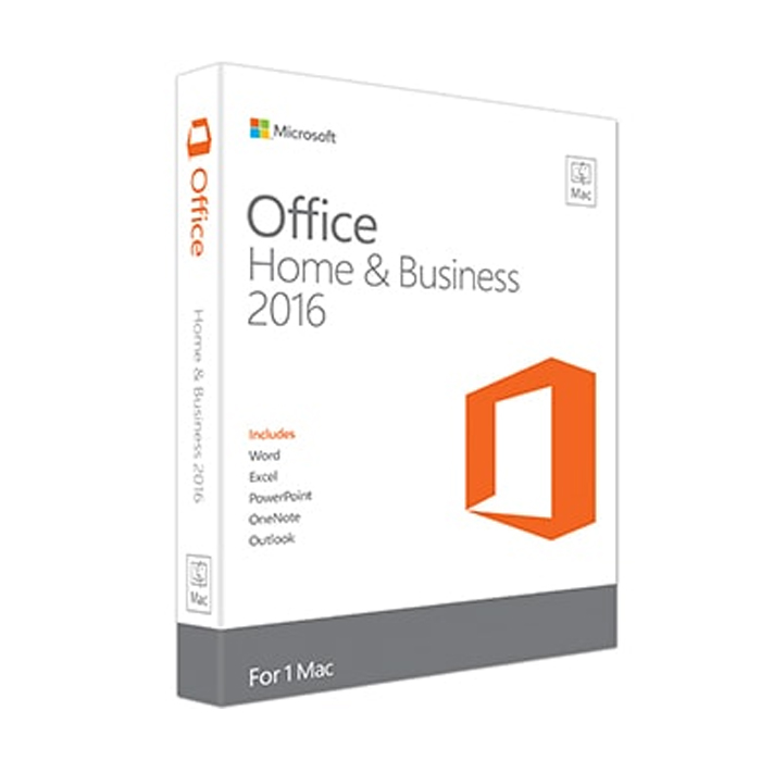 MS OFFICE MAC HOME BUSINESS 2016 ENGLISH (W6F-00529 (W6F-00529) Retail Pack