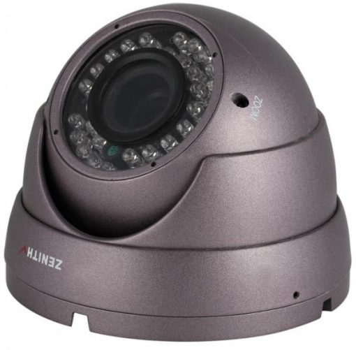 Zenith NTSC Analog Dome Camera with 4-9mm Lens - SF-608B
